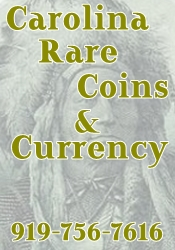 Carolina Rare Coins and Currency