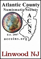 Atlantic County Numismatic Society Coin Show April 29th 2017