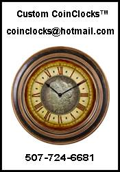 Coin Clocks