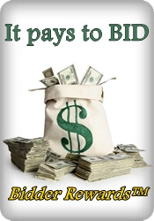Bidder rewards™ It pays to BID